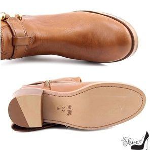 "Coach Shoes - Coach 5.5 ""Carolina"" English Saddle Tan Boots"